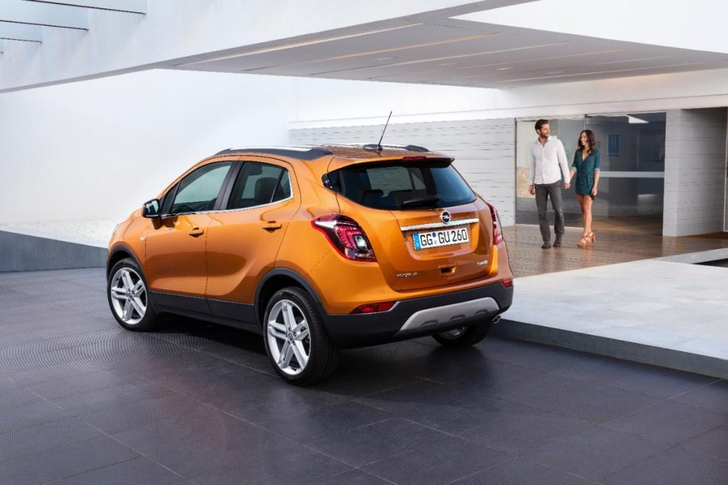 Opel Mokka X Arka