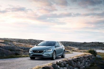 Haber: Makyajlı Volvo V40Göründü!