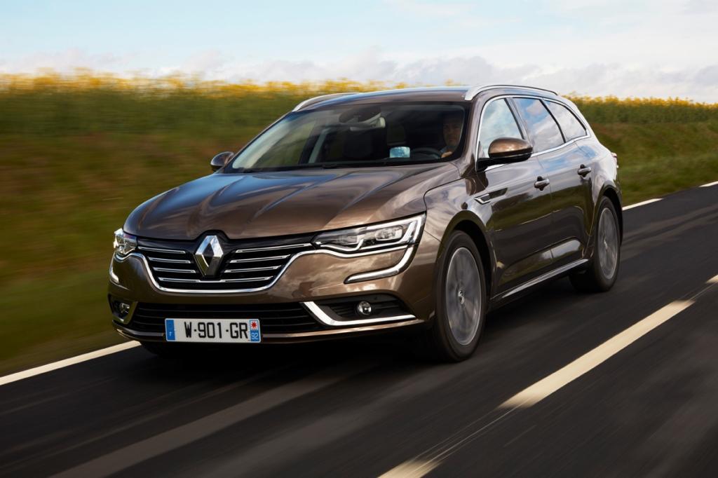 Renault Talisman Estate Ön 3