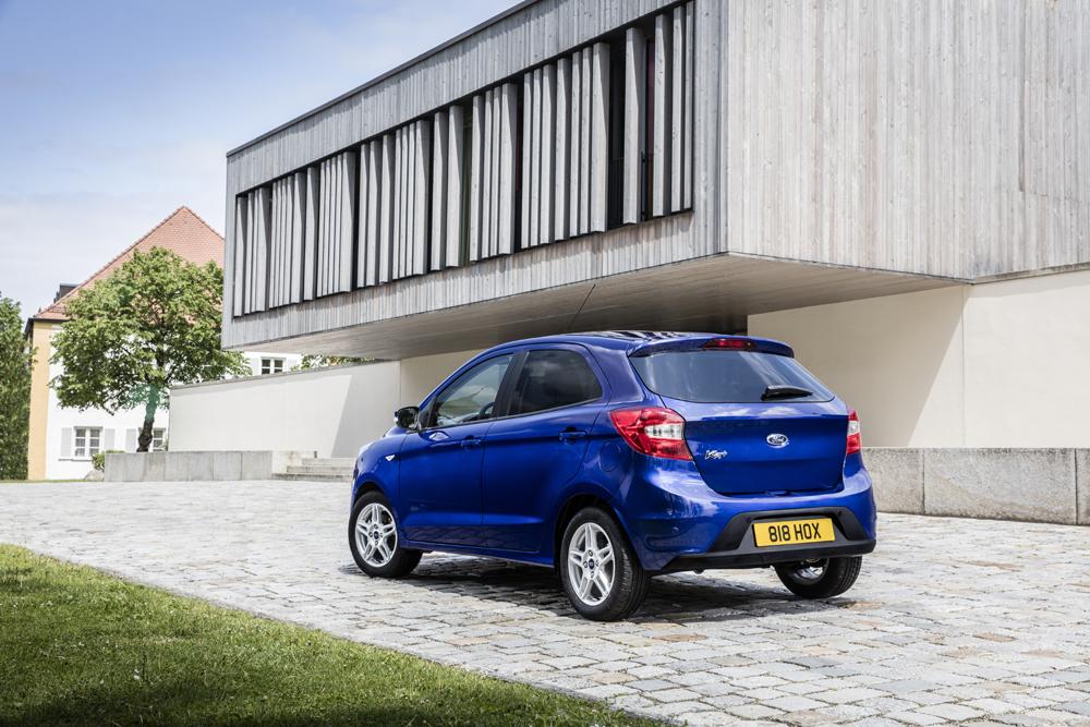 Ford KA+ Arka