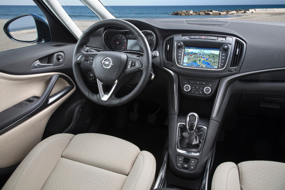 Opel Zafira Tourer İç