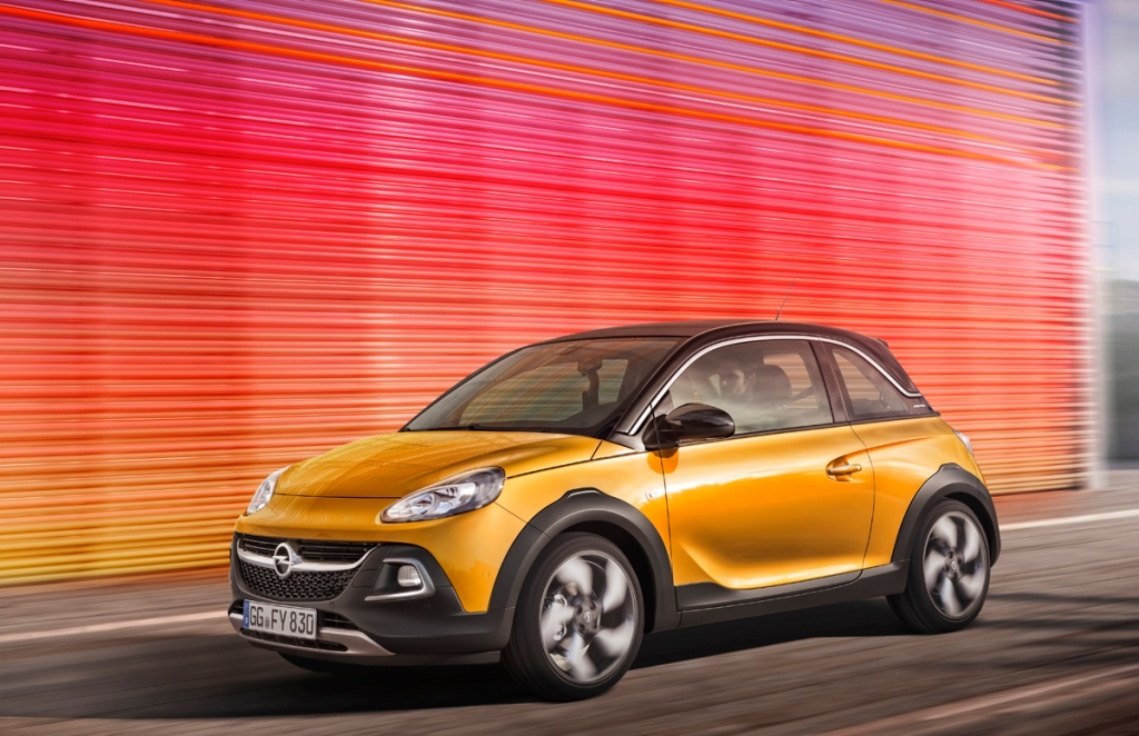 Opel ADAM ROCKS Ön