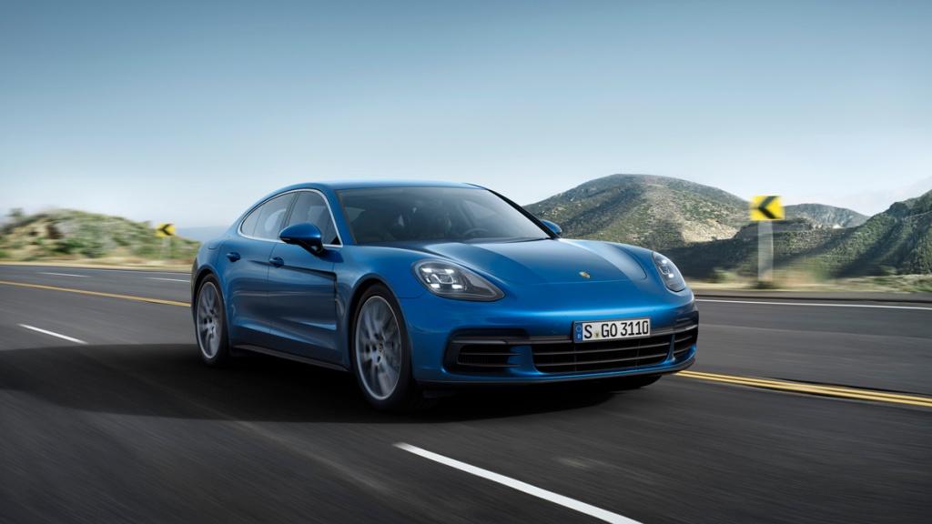 Porsche Panamera 4S Ön